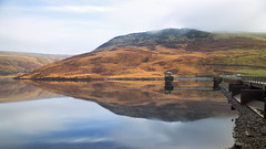 Same place, different time (G-WWBB) Tags: autumn water reflections rocks clouds mist sky waterfront dam yeoman yeomanhey yeomanheydam saddleworthmoor saddleworth greenfield mountain landscape reservoir nd green orange reflect reflecting