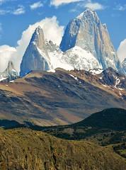 Monte fitz Roy,Parque nacional los Glaciares,patagonia Argentina (Gabriel mdp) Tags: monte fitz roy parque nacional los glaciares patagonia argentina cordillera andes montañas nieve contrastes naturaleza paisaje