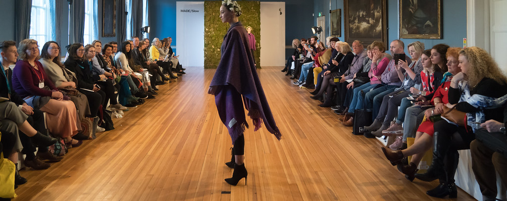 MADE-Slow PRESENTATION OF QUALITY IRISH FASHION DESIGN - STUDIO DONEGAL [FASHION SHOW AT THE RDS JANUARY 2018]-136247