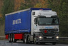 Mercedes Actros Dri Pak FN61 KCA (SR Photos Torksey) Tags: truck transport haulage hgv lorry lgv logistics commercial road vehicle freight traffic mercedes actros dri pak