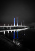 Bordeaux by night : Pont Jacques Chaban Delmas : Nikon D810 : Tokina 17 mm F3.5 ATX Pro (Benjamin Ballande) Tags: bordeaux by night pont jacques chaban delmas nikon d810 tokina 17 mm f35 atx pro