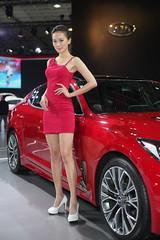 2018 TAIPEI INT'L AUTO SHOW Beautiful Model KIA (Yung Chin Su) Tags: contax contaxplanart1450 autoshow beautifulmodels showgirls
