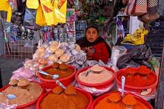 Spice seller (Chemose) Tags: mexico mexique chiapas sancristóbaldelascasas marché market spice épice marchand seller échoppe shop hdr canon eos 7d mars march