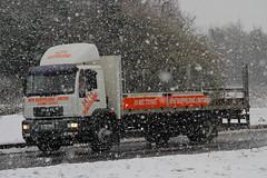 MAN MTH Scaffolding HX54 NXG (SR Photos Torksey) Tags: transport truck haulage hgv lorry lgv logistics road commercial vehicle freight traffic man mth scaffolding