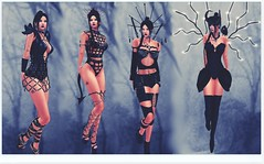 wonder what to wear (kay_1806) Tags: secondlife style black goth different fashion maitreya catwa sexy alluring demanding