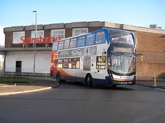 Stagecoach 10919 SN67XAL (preselected) Tags: bus coach dennis alexander enviro 400 mmc stagecoach west scotland service 11