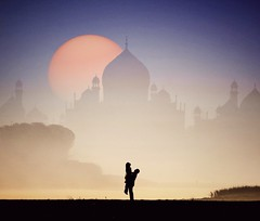 Happy Valentines Day.  #HappyValentinesDay (nimitnigam) Tags: happyvalentinesday valentinesday valentines india taj mahal tajmahal silhouette silhouttes landscape landscapes architecture prewedding art wallpapers wallpaper background backgrounds indian nimitnigam