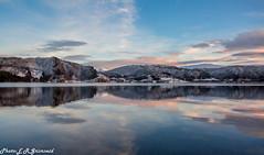 Kalandsvatnet (2000stargazer) Tags: kalandsvatnet bergen norway lake reflections winter landscape waterscape nature canon horizon