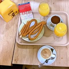 churros y chocolate (maramillo) Tags: maramillo madrid cy unanimous