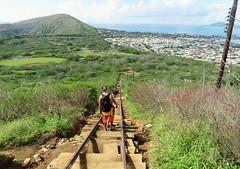 koko-1048-steps (quirkytravelguy) Tags: koko crater hike oahu hawaii