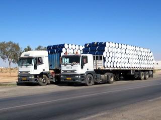 Libyan Trucks