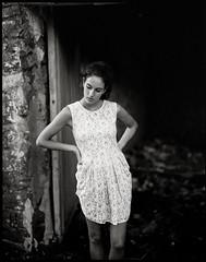 Lovely Alicia by lsmart -  #pentax67 #ilfordfilm #delta3200