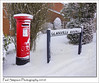 Post box in the snow (Paul Simpson Photography) Tags: snow postbox pllarbox british redbox letters posting scunthorpe royalmail weather winter paulsimpsonphotography nature beastfromtheeast february2018 sonya77 imagesof imageof photoof photosof cold coldweather freezing scenesofsnow winterweather red iconic icon britishicon
