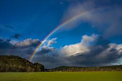 Break in the Storm (autumnhillswoollens685) Tags: westernwashingtonstate pacificnorthwest rainbow boistfortvalley landscapes d800fx nikond800 nikon35mmafsf18
