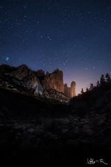 Mallos de Riglos, Huesca (jesbert) Tags: mallos riglos huesca mountain montaña españa spain night shot noche estrellas stars sony a7rii irix 15mm