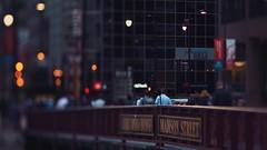 Madison Street Bridge (Jovan Jimenez) Tags: madison street bridge cinematic sony a6500 tilt shift nikon serise e 100mm kodak vision3 50d 5403 6500 ilce people f28 serisee eserise lut