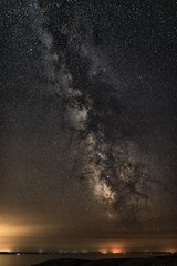 0680 Milky Way II (Hrvoje Simich - gaZZda) Tags: landscape outdoors noperson seascape sea water sky stars night astro milkyway krk croatia europe nikon nikond750 sigma2414art gazzda hrvojesimich