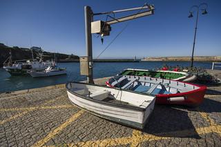Barcas en el Puerto de Tapia