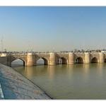 Karshi UZ - bridge across a river Kashkadarya thumbnail