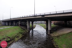 River Mersey, Northenden (Mike McNiven) Tags: river water stockport liverpool manchester cheshire lancashire merseyside bridge