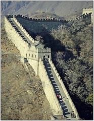 The Great Wall... (rogilde - roberto la forgia) Tags: pechino cina china lagrandemuraglia greatwall oriente asia beijng