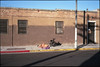 37th Street (ADMurr) Tags: cbc260 la homeless yellow red blanket curb leica m6 50mm summicron kodak ektar full frame