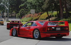 PHOTOSHOP lowered ferrari f40 (CarsAftermarket) Tags: rare racecar wing spolier red fake slammed coilovers grounded scrape ferrari