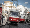 Tramspotting (Henka69) Tags: tram streetphotography publictransportation cityscape praha prague