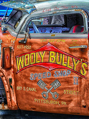 wooly_bully (gerhil) Tags: travel event carshow autorama worldofwheels popart color graphic vehicle truck pittsburgh winter nikcolorefexpro4