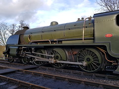2018 0212 508 (SGS8+) Bluebell Railway; Sheffield Park (Lucy Melford) Tags: samsunggalaxys8 bluebell railway steam train departing southern sheffield park
