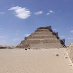 Pirámide escalonada de Djoser, Saqqara, Egipto thumbnail