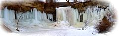 Winter at Wequiock Falls (Jay Janssen) Tags: winter snow ice waterfall cold wequiock wisconsin landscape frozen