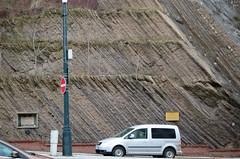 Letenský Profil (zeesstof) Tags: zeesstof vacationdestination czechrepublic prague city ordovician barrandien slate sandstone typesection stratotypeoftheletenský letenskýprofil geology pelargoniteconcretions fossils trilobites geotagged