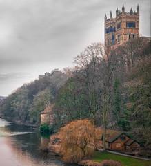 Winter in Durham (MMiPhoto) Tags: winter durham riverside water cathedral riverwear dlux leica