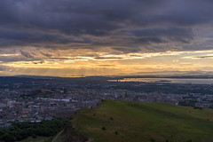 Looking towards the Kingdom of Fife (MilesGrayPhotography (AnimalsBeforeHumans)) Tags: 2870 sonyfe2870mmf3556oss architecture auldreekie a7ii arthursseat britain blending balmoral bridges fife kingdomoffife city cityscape castle castlerock edinburghcastle dusk crags salisburycrags edinburgh europe evening unesco fe firthofforth glow golden historic historicscotland iconic ilce7m2 landscape lens lothians landscapephotography mountains nighfall outdoors old oss oldtown photography photo tranquil rocks river royalmile rays raysoflight scotland sky scenic skyline sunset sunlight sunshine sonya7ii sony summer scottish scottishlandscapephotography sonyflickraward town twilight uk unitedkingdom village volcano volcanic water