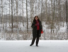 winter casual (Elegance Revisited) Tags: winter downcoat cashmere casual 40blogger