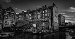 Canalhouse. (Ian Emerson Thanks for the comments and faves) Tags: nottingham nottinghamshire canal architecture period buildings water narrowboat samsungs8 lightroom adobe outdoor towpath blackwhite industrial lovenotts