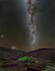 Milky Way over Ruapehu (NavmanNZ) Tags: sonya7rii zeissloxia2128 tongarironationalpark newzealand ruapehu