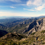 Panorama at Pico del Cielo, view headed to Málaga thumbnail