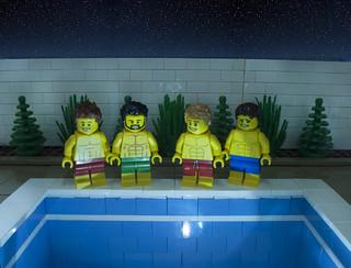 Pool ... No Water