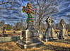 Make Life Beautiful (Pearce Levrais Photography) Tags: cemetery stone field grave hdr canon 7d markii art colorization tombstone ornate beautiful memory burial ground tree grass sculpture