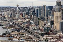 Seattle's Alaskan Way Viaduct (WSDOT) Tags: gp aerial seattle alaskanwayviaduct alaskan way viaduct downtown waterfront skyline
