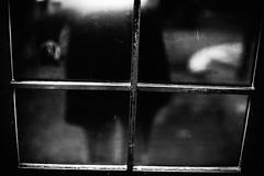 Who's There? 167.365 (ewitsoe) Tags: monchrome blackandwhite city cityscape urban ewitsoe bnw world door reflection hand shadow 167 365 canon 50mm 6dii urbanite warsaw poland