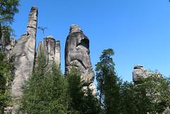 Adršpašské Skály (Bogdan J.S.) Tags: europa europe czechrepublic skały rocks krajobraz landscape przyroda natura nature adršpašskéskály niebo sky czechy