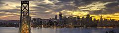 Yerba Buena (Tony Shi Photos) Tags: sanfrancisco sf san francisco california yerbabuenaisland bayarea baybridge ca panoroma pano downtown downtownsf