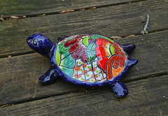 Talavera Turtle (BKHagar *Kim*) Tags: bkhagar turtle talavera pottery colorful jamie challenge julesphotochallengegroup