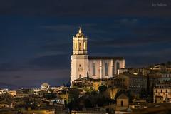 La Catedral de Girona II (jepiswell) Tags: girona catalunya catalonia nightscape night cathedral nocturna urban
