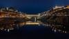 Puente de Alcántara (Jaime A Ballestero) Tags: jaime a toledo navidad puente alcántara tajo luces reflejo