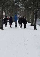 20180301_122502 (David Denny2008) Tags: portobello dublin february 2018 snow blonde boots grand canal bank