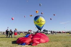 Hot Air Balloon Festival 2017 21 (rschnaible (Not posting but enjoying your posts)) Tags: albuquerque balloon fiesta new mexico sport fly flight vehicle transportation sky outdoor west western southwest color colorful landscape